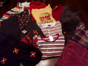 Bag of girls fall clothing size 4/5
