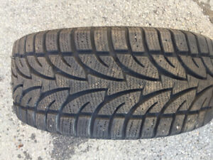 2 Winter tires, barely used. Sailun Ice Blazer 225 45R17 $50