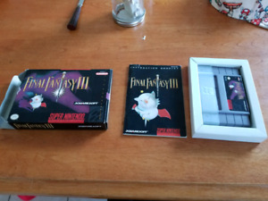 Final fantasy 3 in box great shape, will trade
