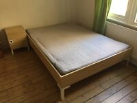 Double bed FOR SALE!