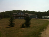 3.43 acres and house in Okotoks for sale