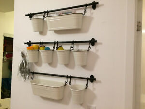 IKEA FINTROP series - Wall Rack / Rail Storage