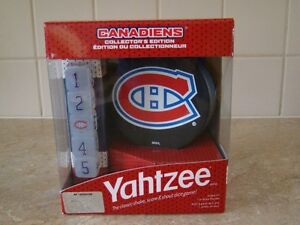 Jeu Yahtzee game - Montreal Canadiens Collector's Edition new
