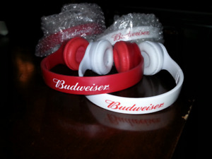 Budweiser Bluetooth headphones