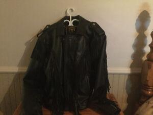 Manteaux en cuir