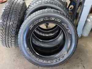 4 pneus Bridgestone Dueler A/T P255/70R18