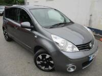 2012 NISSAN NOTE N-TEC PLUS AUTOMATIC 5 DOOR HATCHBACK PETROL