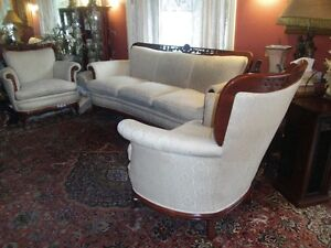 LOVELY SOFA AND CHAIRS NEED A NEW HOME !