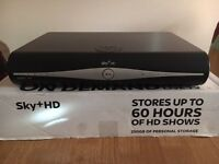 Sky + HD Box 60 hours of recording