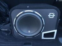 Pounding JL Audio W6 Subwoofer and Amp ForSale