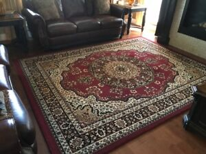Turkish Persian Area Rug 8x11