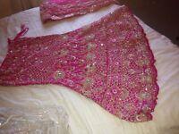 Bridal pink wedding lengha