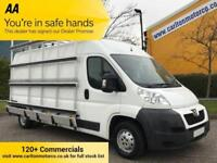 2014 Peugeot Boxer 2.2HDi 130 Professional 335 L3 H2 LWB FRAIL GLASS CARRIER Van