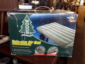 SAVE BIG !!!!!!! WOODS TWIN SIZE AIR BED ONLY $24.00