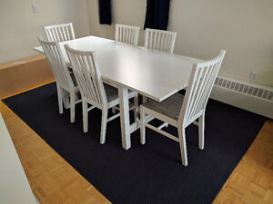 NORDEN Ikea Dining Table for 6 - Good Condition - $300 (OBO)
