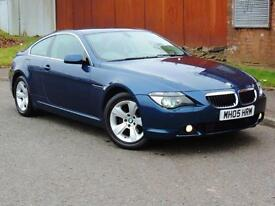 2005 BMW 6 Series 3.0 630Ci 2dr