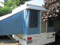 Dutchman Flipper Tent-trailer .reduced price/prix reduit