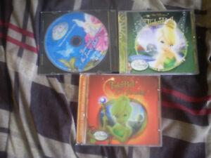 "Ensemble de 3 CD ""Disney Fairies"""