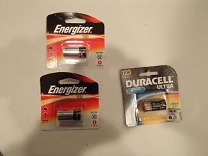Duracell Ultra 123 and Energizer 123 Lithium Batteries - New Sarnia Sarnia Area image 1