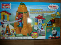 Ensemble Thomas & Friends Mega Bloks Adventures on Misty Island
