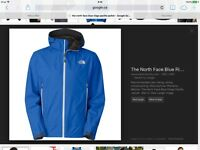 The north face mens blue ridge paclite jacket size XL (new)