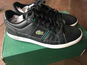 Boys Lacoste leather shoes