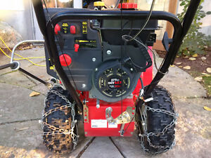 Yard Machine Snowblower Practically Brand New Model 31AH64FF500 Peterborough Peterborough Area image 2