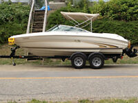 2001 SEARAY 19.5 BOWRIDER with  5.0L  Mercruiser