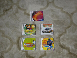 Various Dreamcast games - Rayman 2, Sega Rally 2, Virtua Tennis