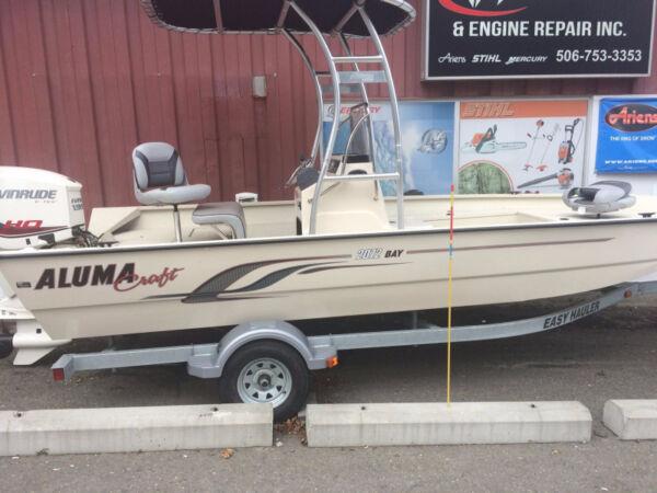 Used 2015 Alumacraft Boat Co MV2072AW BAY SAND LX