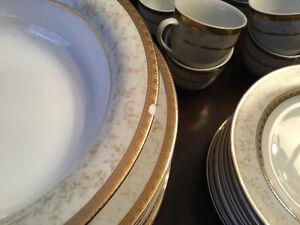 Dinner Party Ready- 12 place setting porcelain-dishwasher safe Stratford Kitchener Area image 6