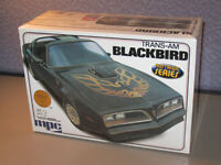 76 Firebird MPC Pontiac Blackbird Muscle Trans AM Model Car Kit