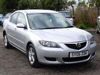 Mazda 3 1.6 TS Silver 2006 Saloon 71 000 Miles 1 Years Mot, 6 Months AA Warranty