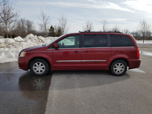 2011 Chrysler Town and Country Van, Saftied & ready to go