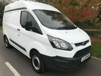 2015 65 FORD TRANSIT CUSTOM 2.2TDCI 100BHP 290 ECONETIC L1 H2 ANY UK DELIVERY