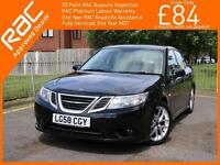 2008 Saab 9-3 1.9 TiD Turbo Diesel Vector Sport 6 Speed Climate Control Parking