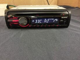 Sony Xplod CDX-GT250MP Car Stereo (swap)