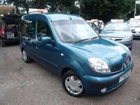 2006 Renault Kangoo 1.6 Expression 5dr Auto campervan 5 door Motorhome