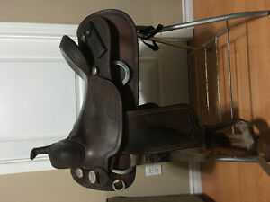 Bob's Custom Cowhorse Saddle