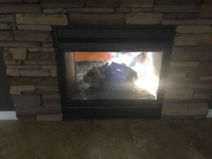 Gas fireplace for sale! Double sided !