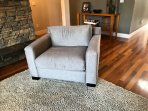 beautiful contemporary sofa and/or chair