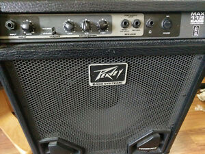 Peavey bass amp, great for practice!