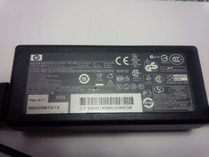 Hp AC ADAPTER 65W PA-1650-02H output 18.5V 3.5A Kitchener / Waterloo Kitchener Area image 1