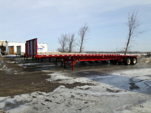 remorque type flat bed a louer