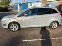 2011 Ford C-MAX Grand Zetec petrol 7 seater 1.6 Mpv Petrol Manual
