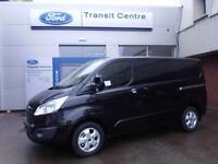 NEW Ford Transit Custom 290 SWB Limited 2.2TDCi 125ps Black - Onsite