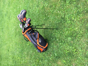 Ram sdx men's golf set with stand bag