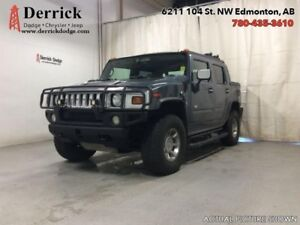 2005 Hummer H2 Used 4WD Rear DVD Powr Group Leather Seats A/C