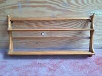 Vintage ercol plate rack