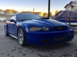 2003 SUPERCHARGED FORD MUSTANG MACH1 GT 500HP